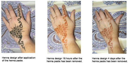 The Henna Page - Warnings